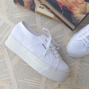 SUPPERGA Acot Linea Platform Low Top Sneakers